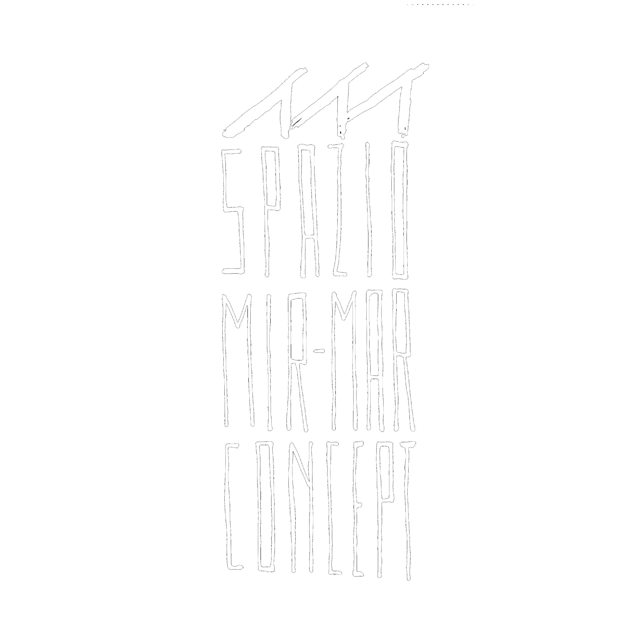Spazio Mir Mar Concept Logo